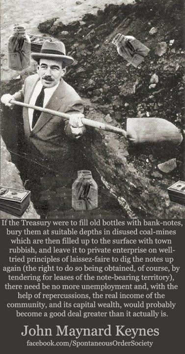 Keynes Quote Idiot